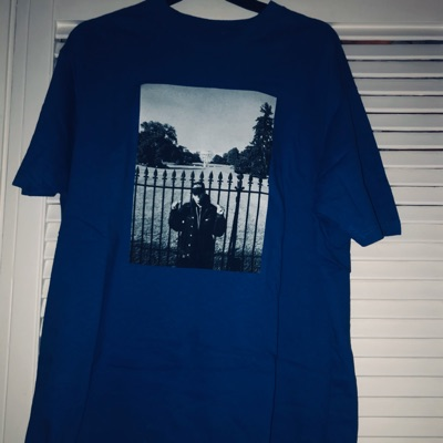 Supreme UNDERCOVER/Public Enemy White House Tee Royal