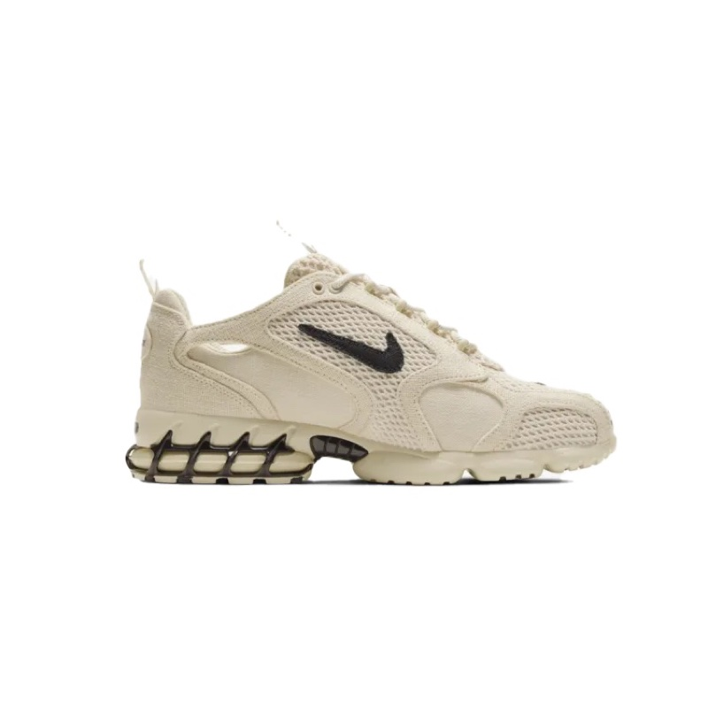 Nike Stussy Air Zoom Spiridon Cage 2 Fossil