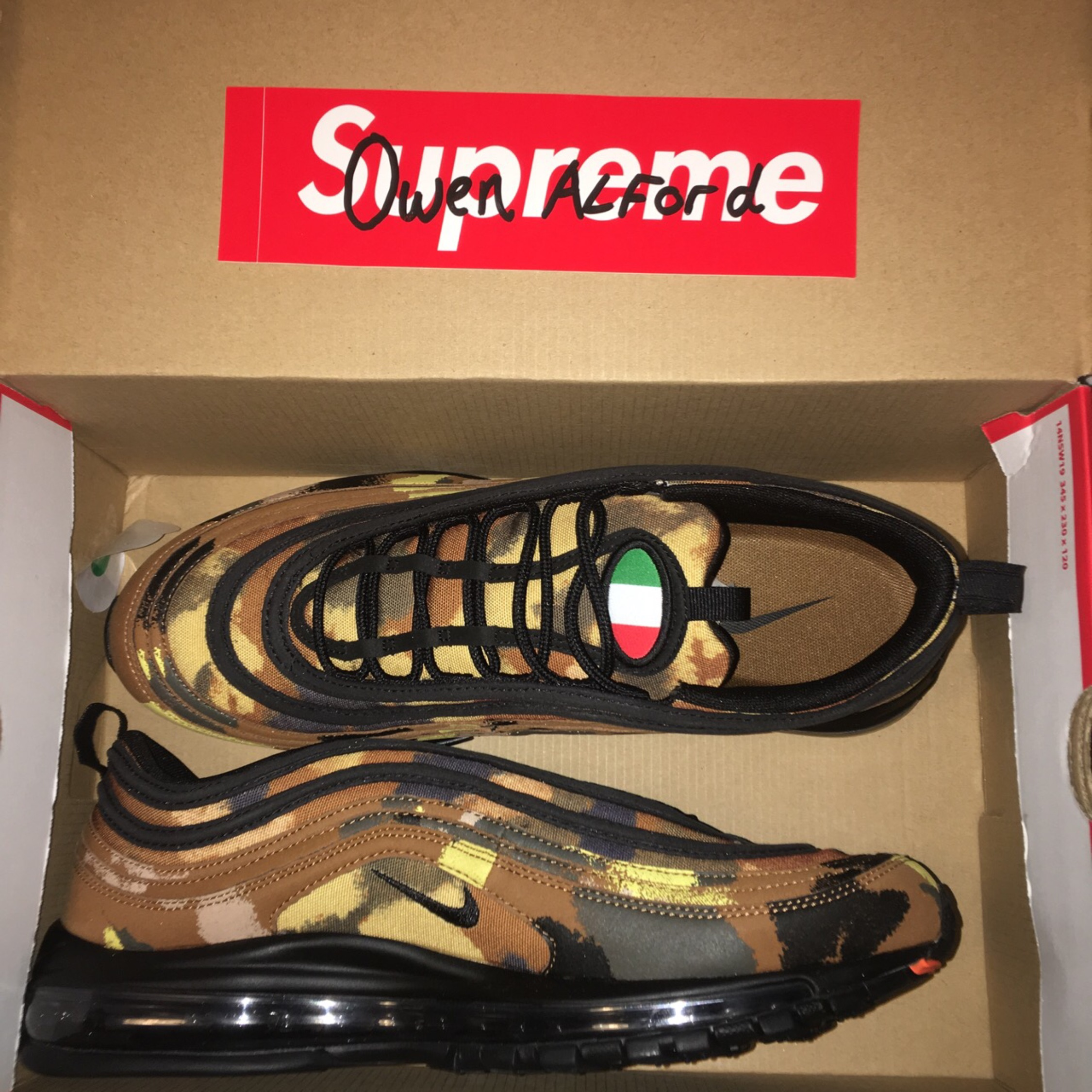 Nike Air Max 97 'Country Camo Pack' Italy.