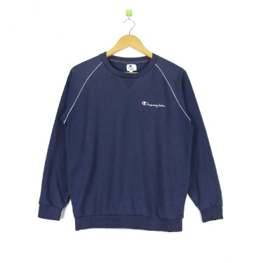 Champion Embroidery Small Logo Crewneck Pullover Jumper Sweatshirt