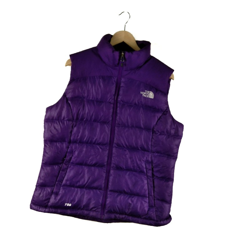 VINTAGE THE NORTH FACE PUFFER VEST x OUTDOOR LIFE