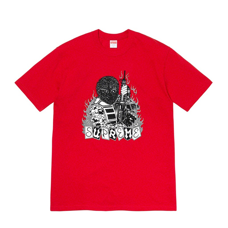 Supreme Mercenary Tee Red
