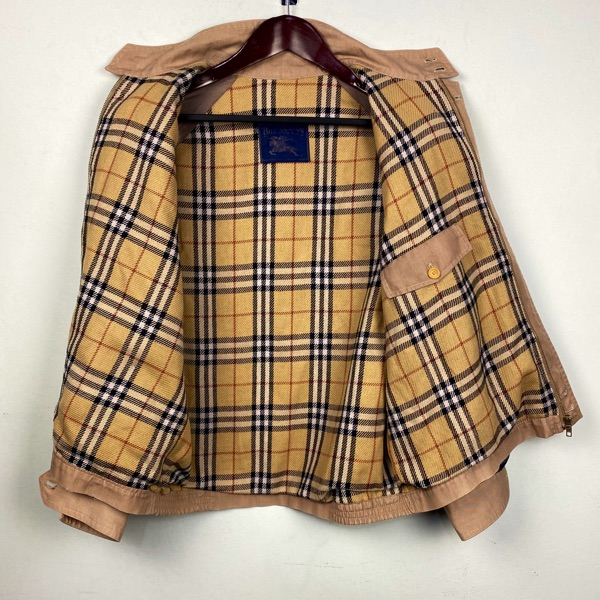 Vintage Burberry Harrington Bomber Jacket Small