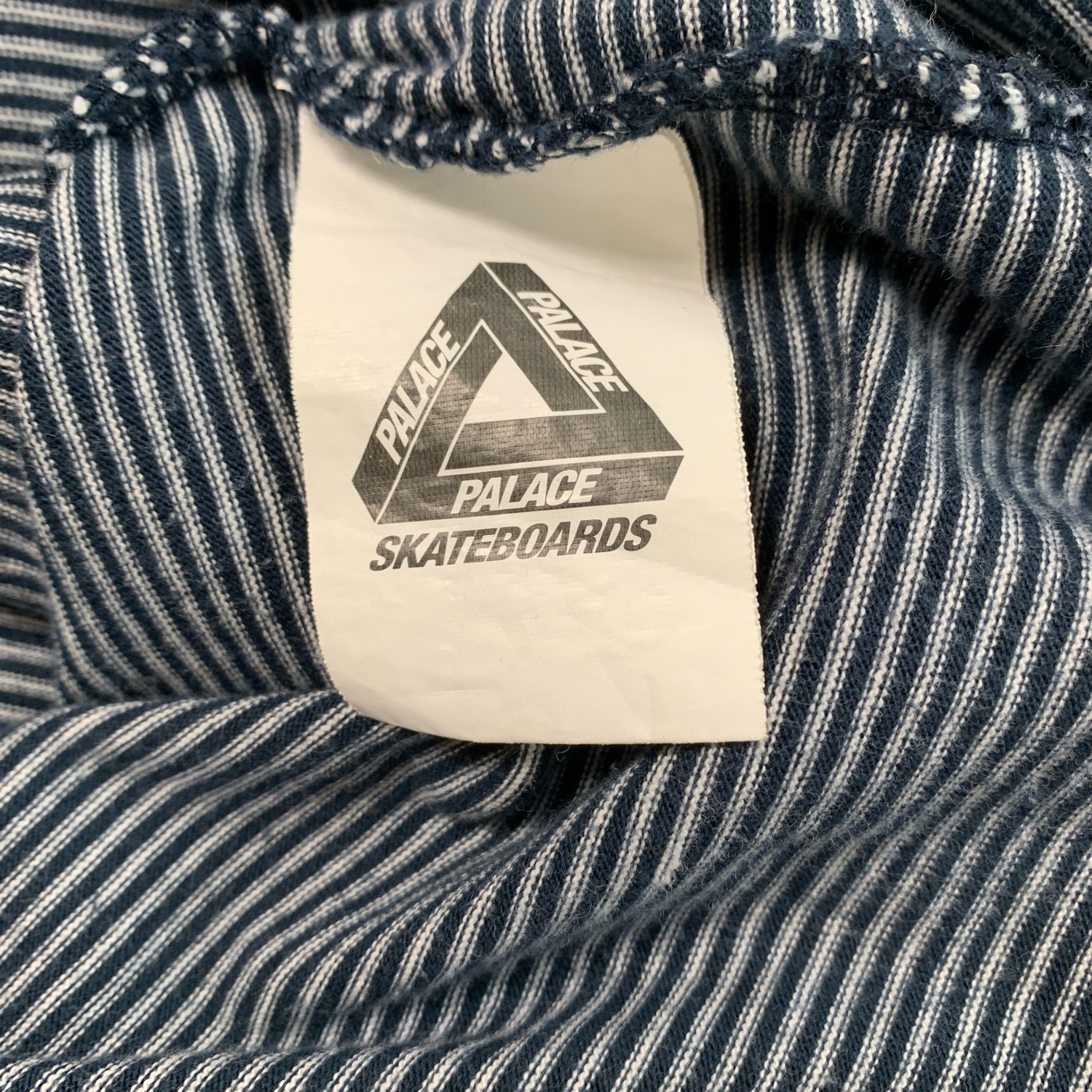 Palace Jeans Striped Long Sleeve T Shirt