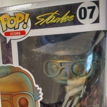 Funko Pop Icons Stan Lee Patina #07