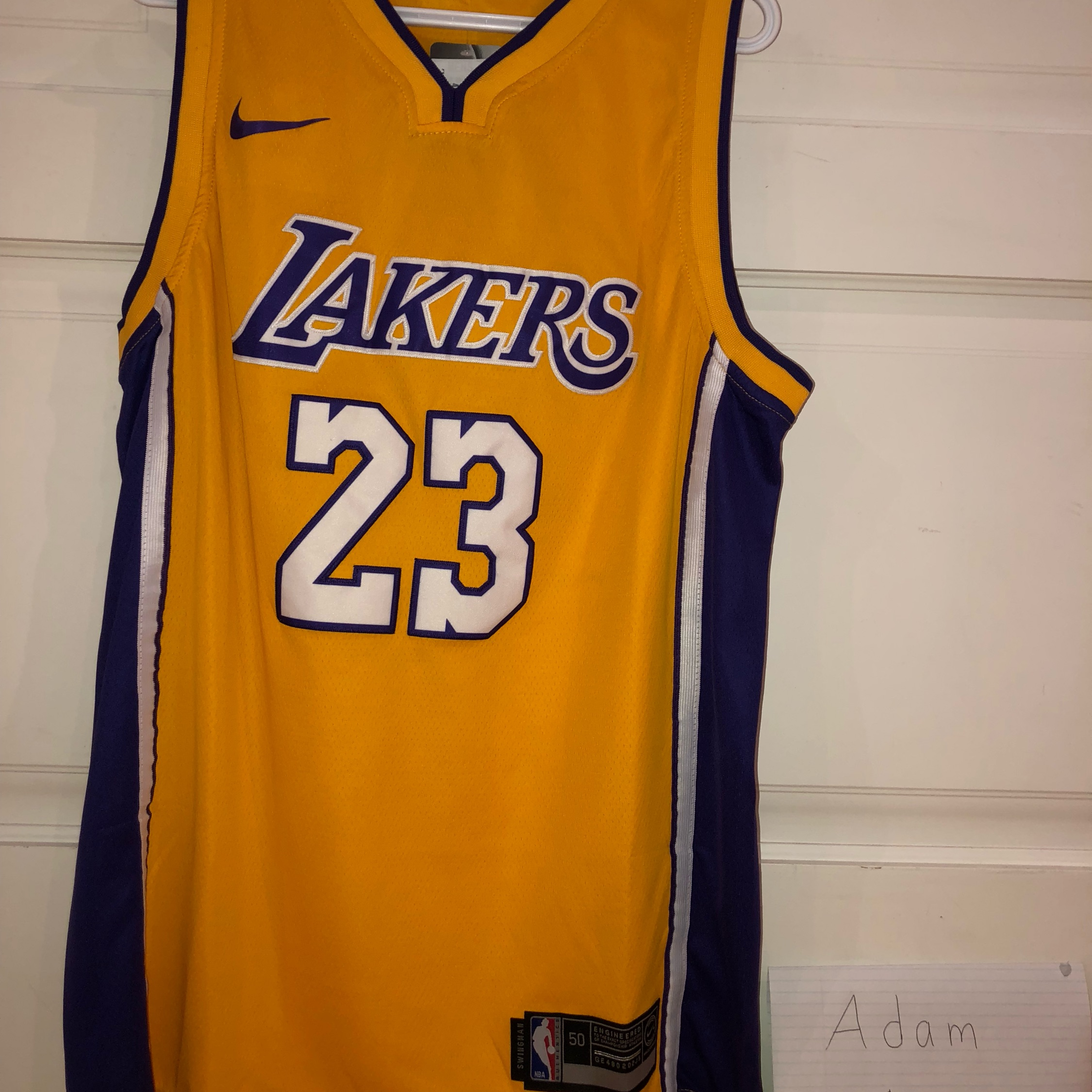 info for 4e842 e450f Brand New Lebron James Lakers Jersey