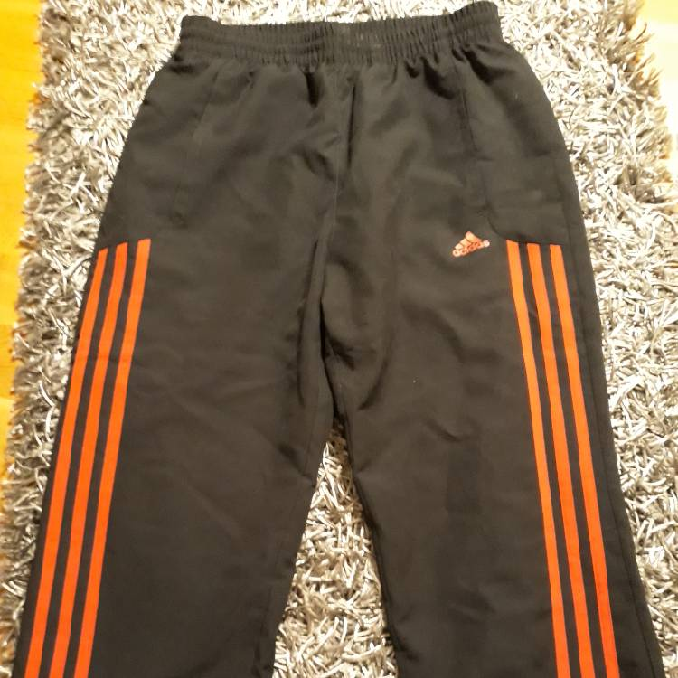 efb96720 Black Adidas Pants With Red Stripes