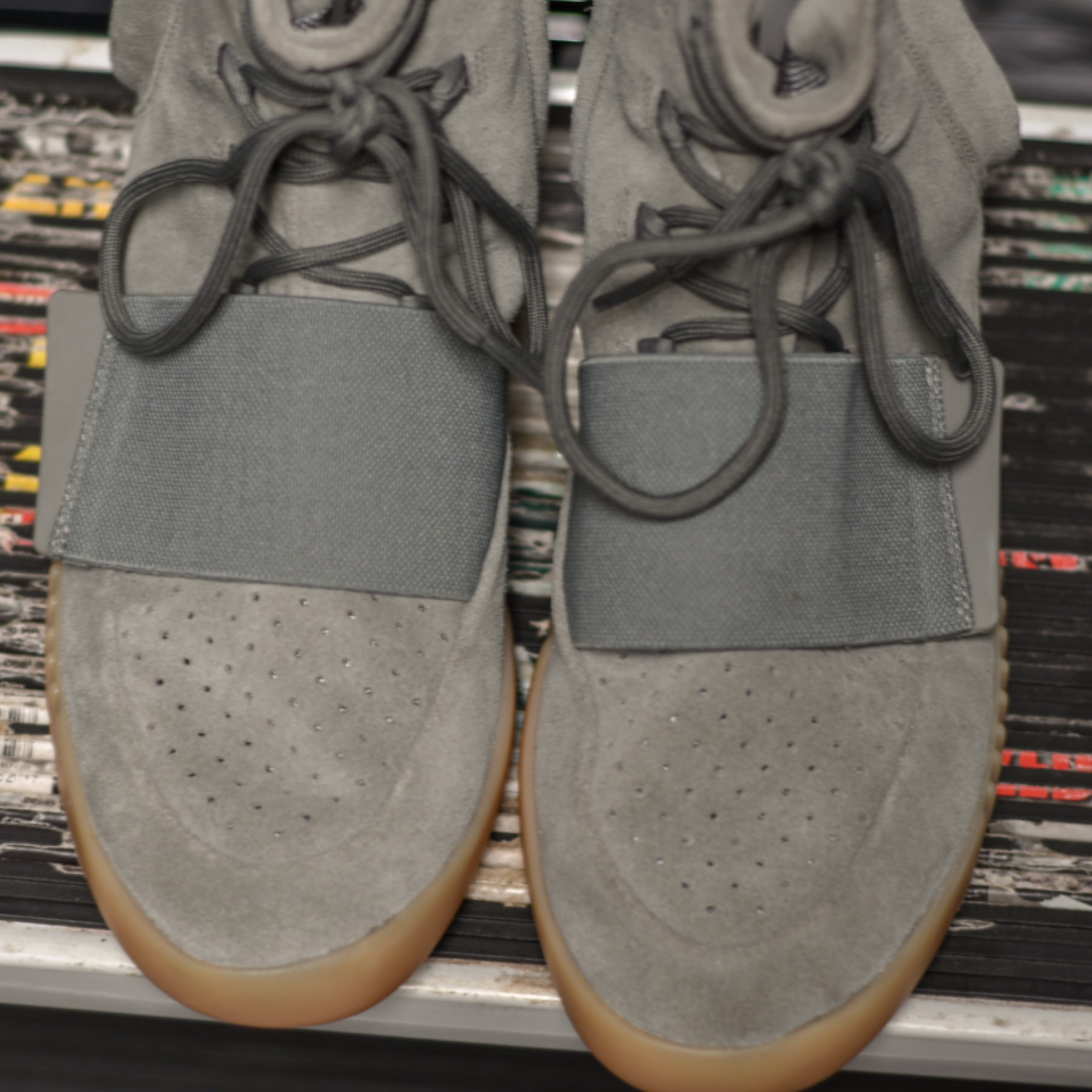 separation shoes e5000 19248 Adidas Yeezy Boost 750 Grey Gum Size 11 350 V2