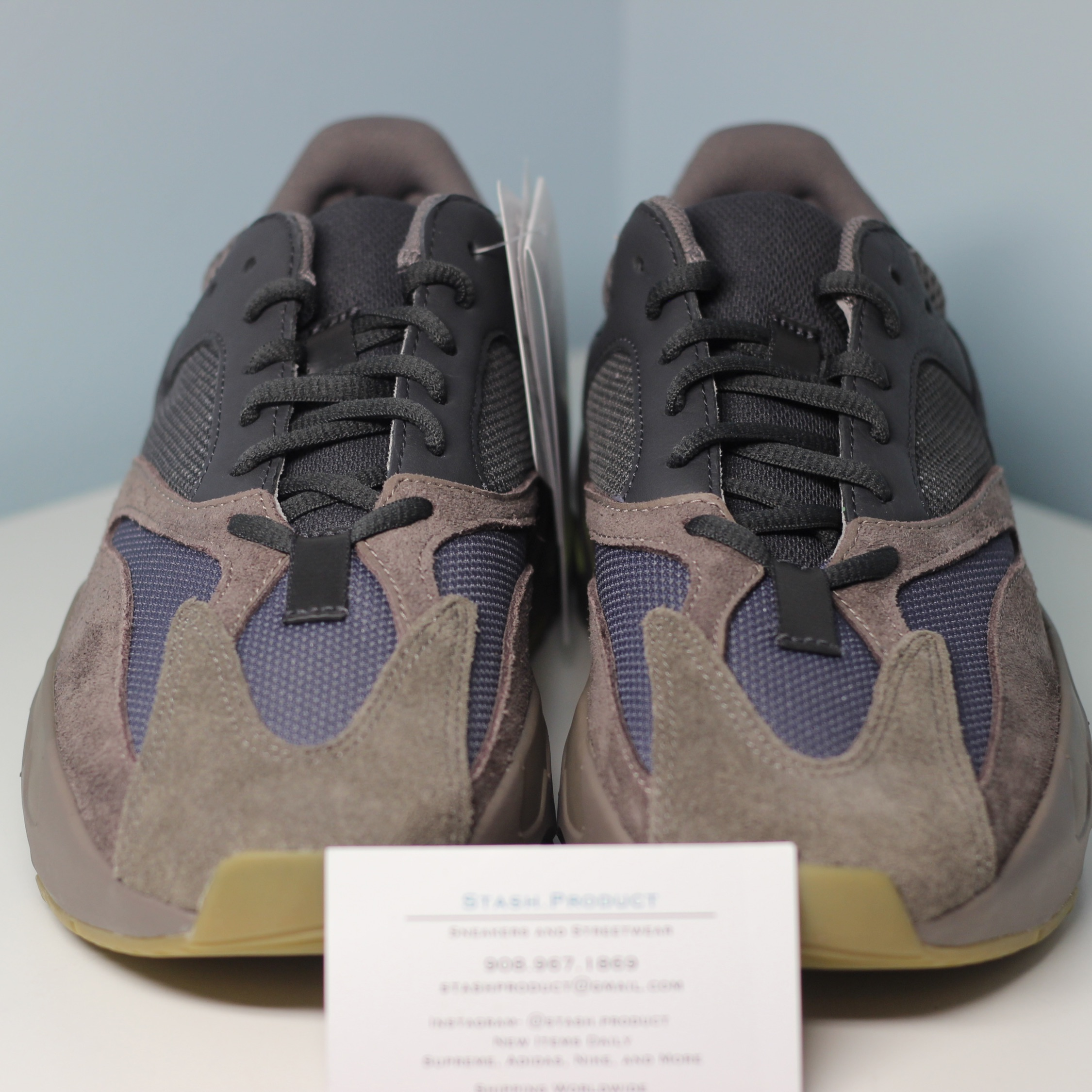more photos a5883 20b2b Adidas Kanye West Yeezy 700 Mauve Size 8 New Clay