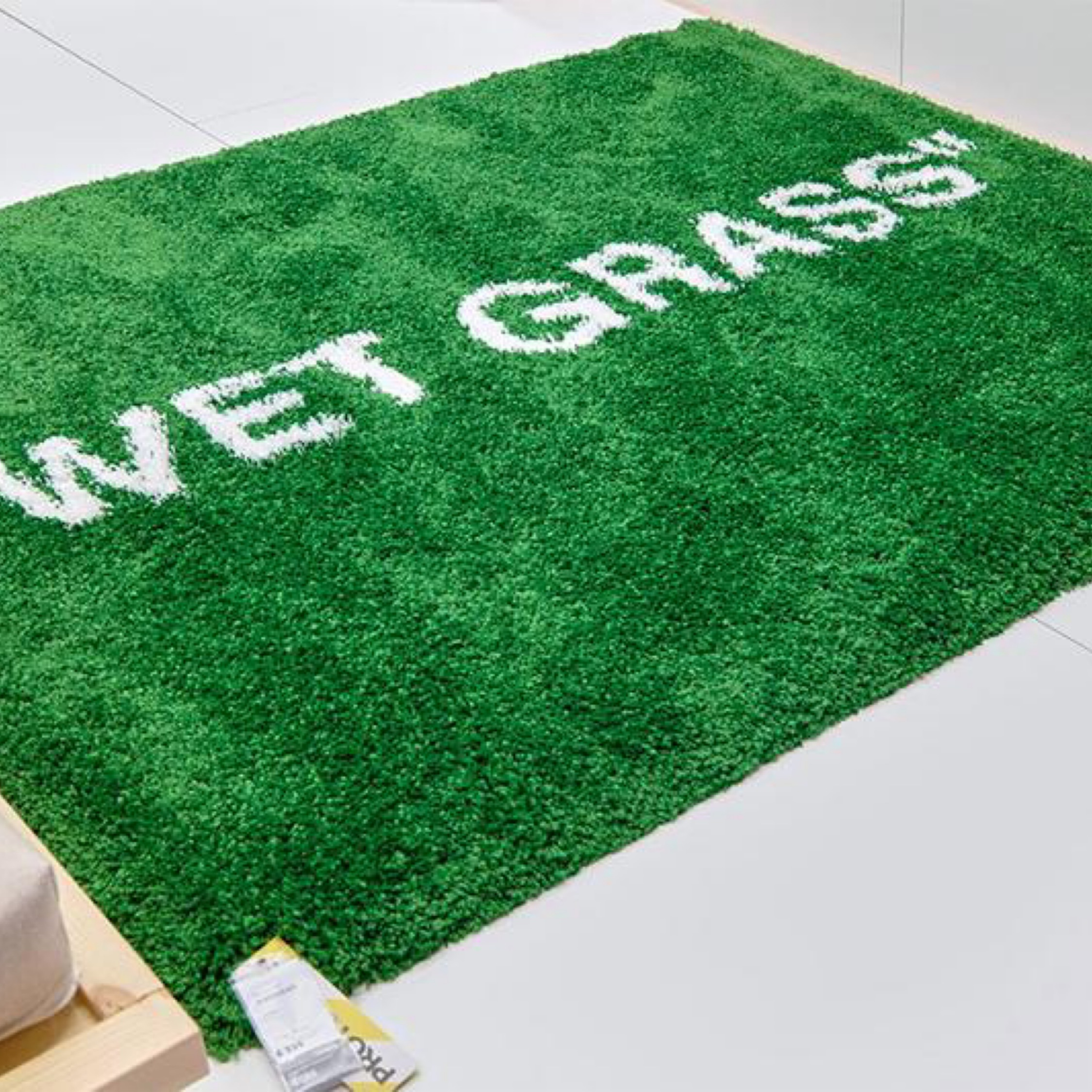 Ikea X Virgil Abloh Proxy For Wet Grass Carpet