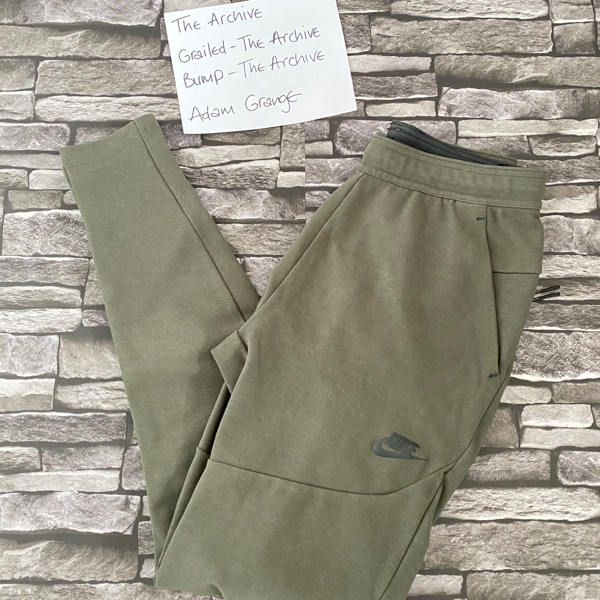 Nike Khaki Trackpant Bottoms