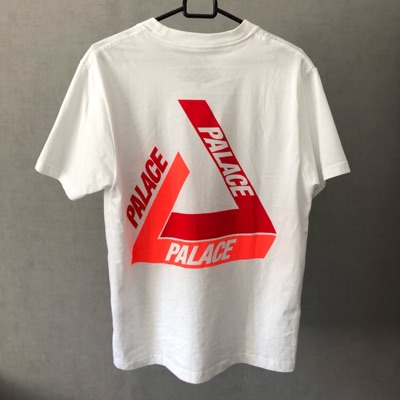 Palace Tee White/Red