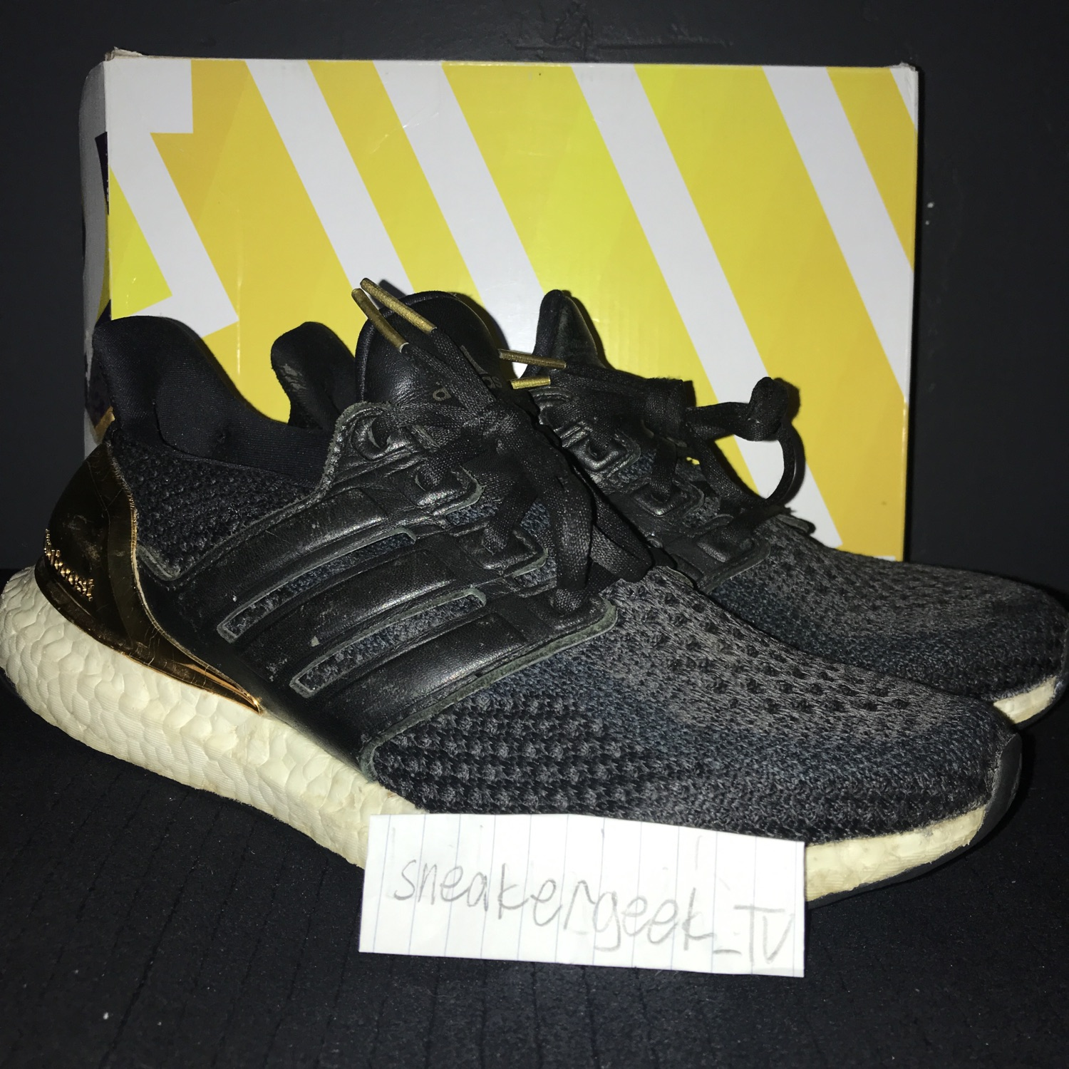 adidas Ultra Boost 2.0 Gold Medal (2016