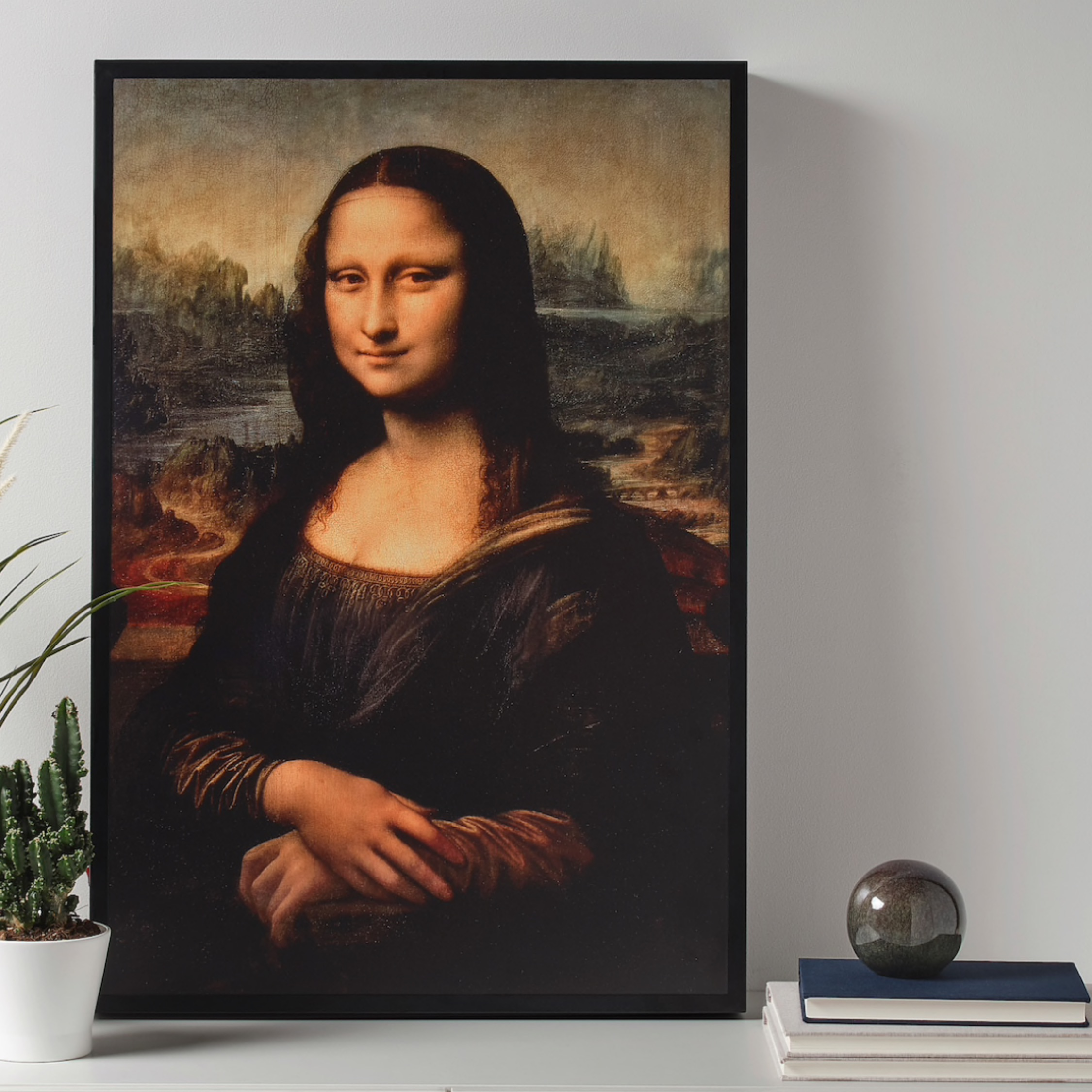 Mona Lisa Ikea X Virgil Abloh Off White Drop