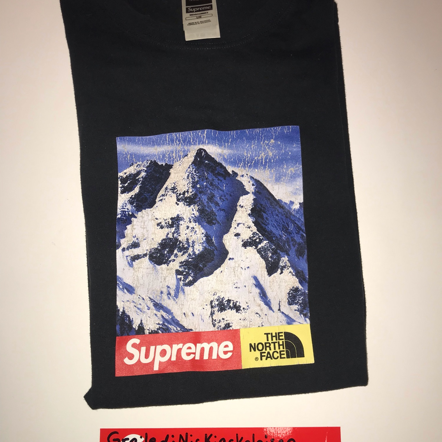 3b555a482 Supreme X The North Face Mountain Tee