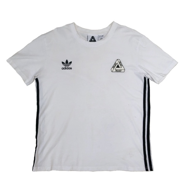 Palace X Adidas White T Shirt
