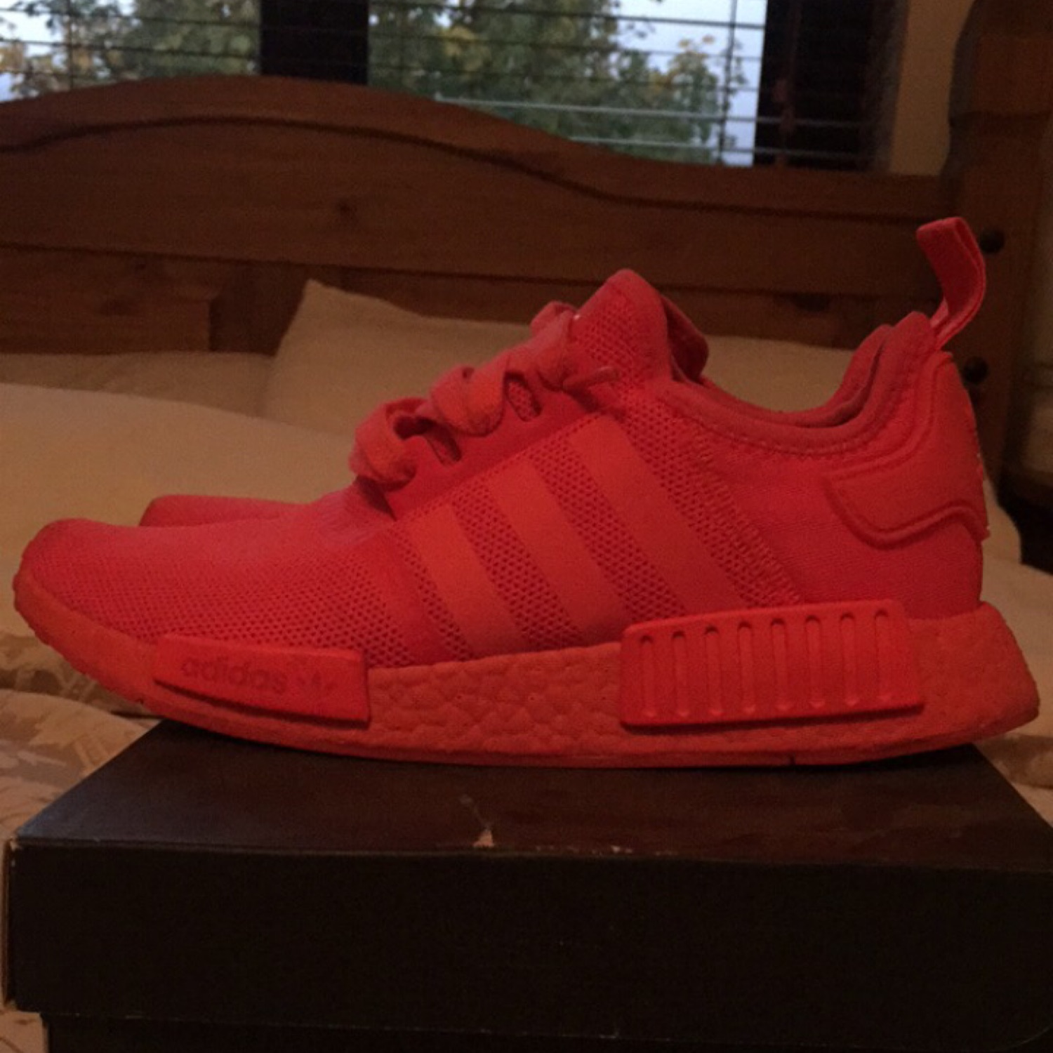 super popular e1f55 06ef5 Adidas Nmd R1 Solar Red