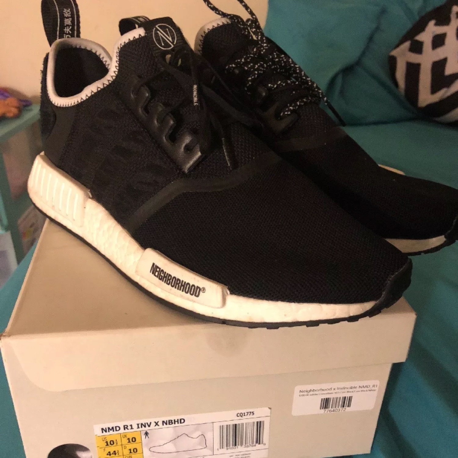 online store 55b24 fd3b7 Adidas Nmd R1 X Neighborhood Invincible / Us 10.5