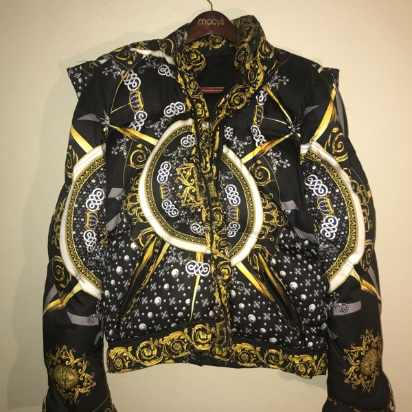 Versace Collection  Baroque Barocco Puffer Jacket