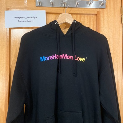 Assc More Hate More Love Hoodie