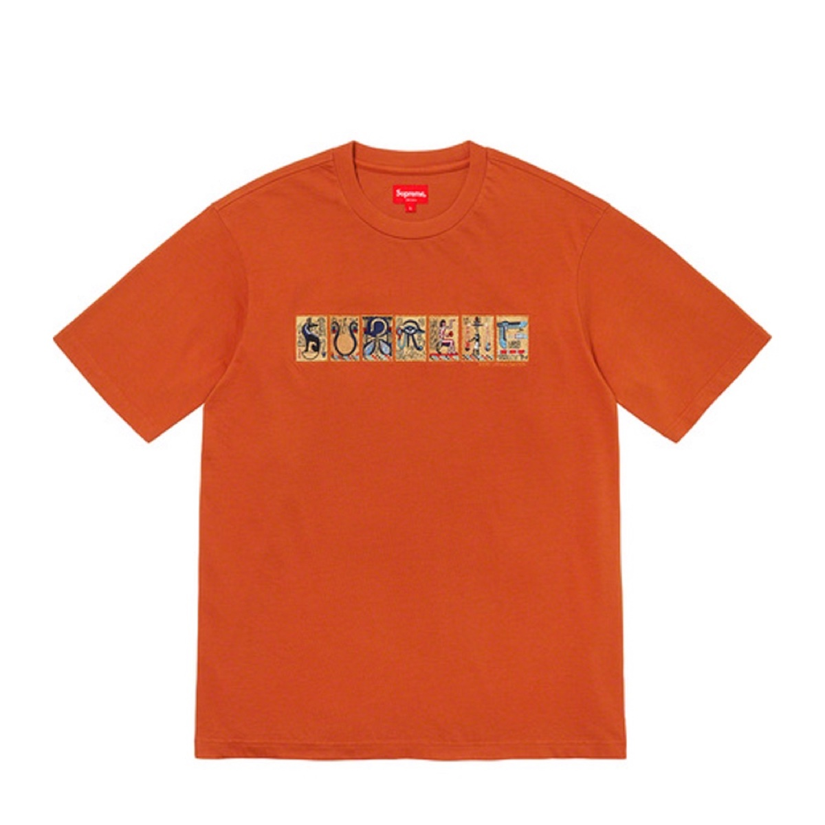 Supreme Ancient SS Top Orange