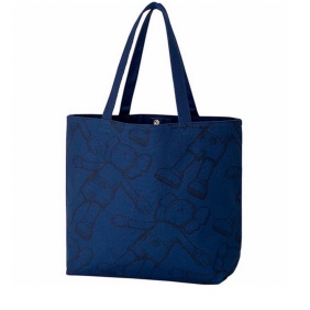 Uniqlo X Kaws All Over Holiday Tote Bag