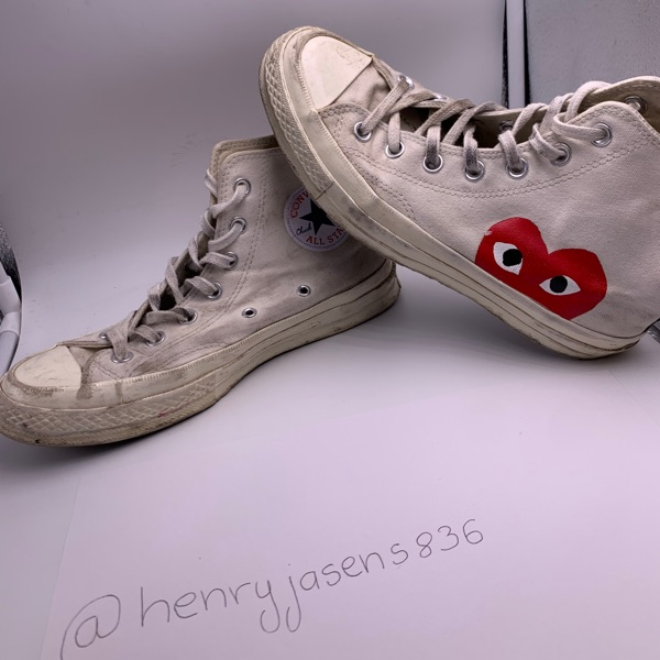 Comme Des Garcons X Converse High-Top-Chucks