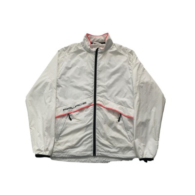 Palace Crink Runner Jacket White Size Large