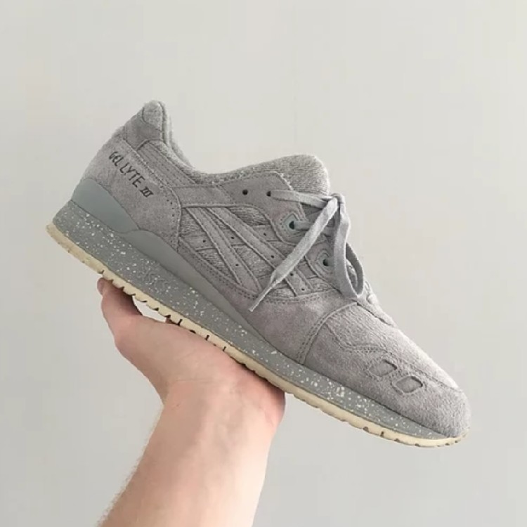 reputable site 445a7 e7c41 Asics Gel Lyte III Reigning Champ, Grey UK10.5