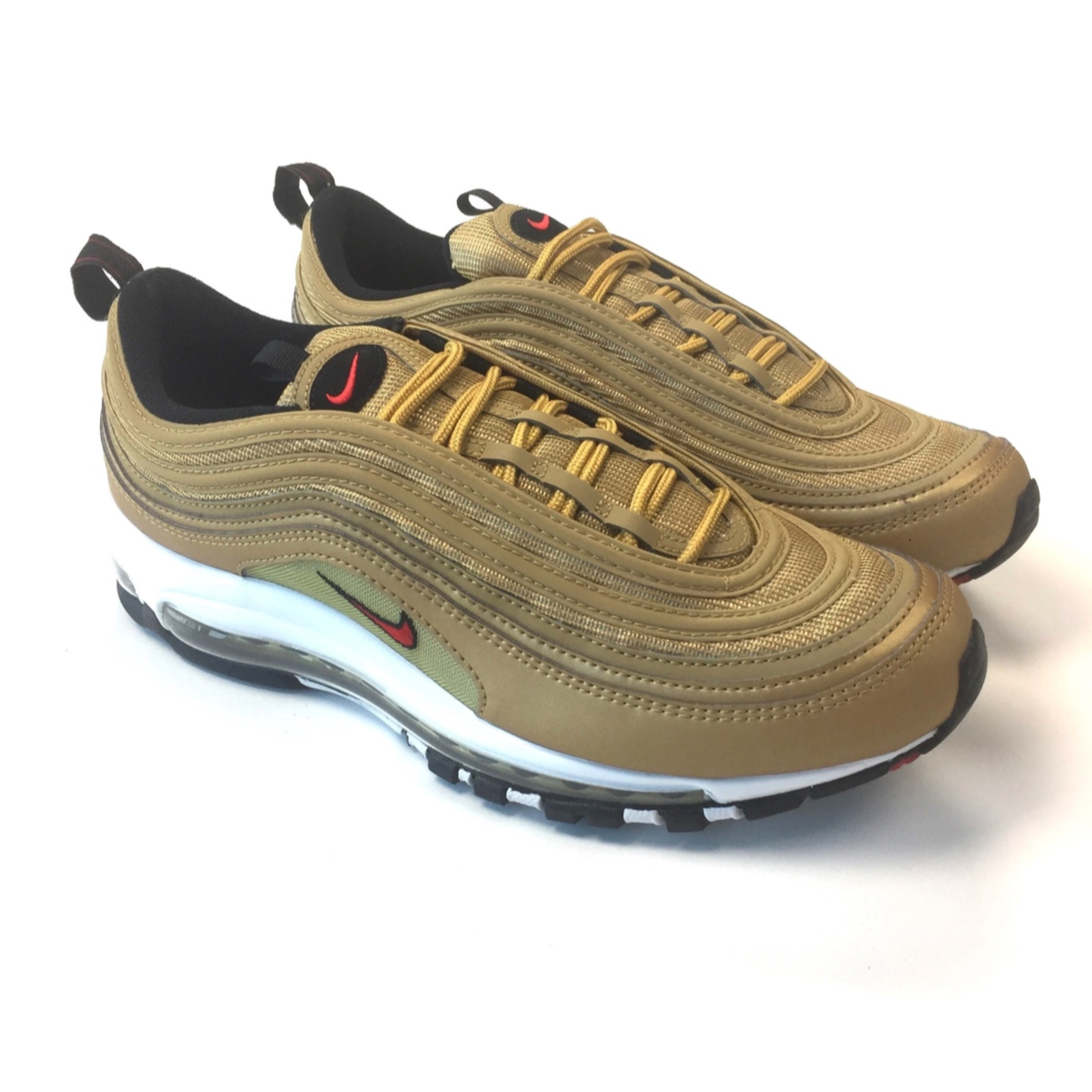 low priced 94adc 8c6a4 Nike Air Max 97 Gold Qs Size 10
