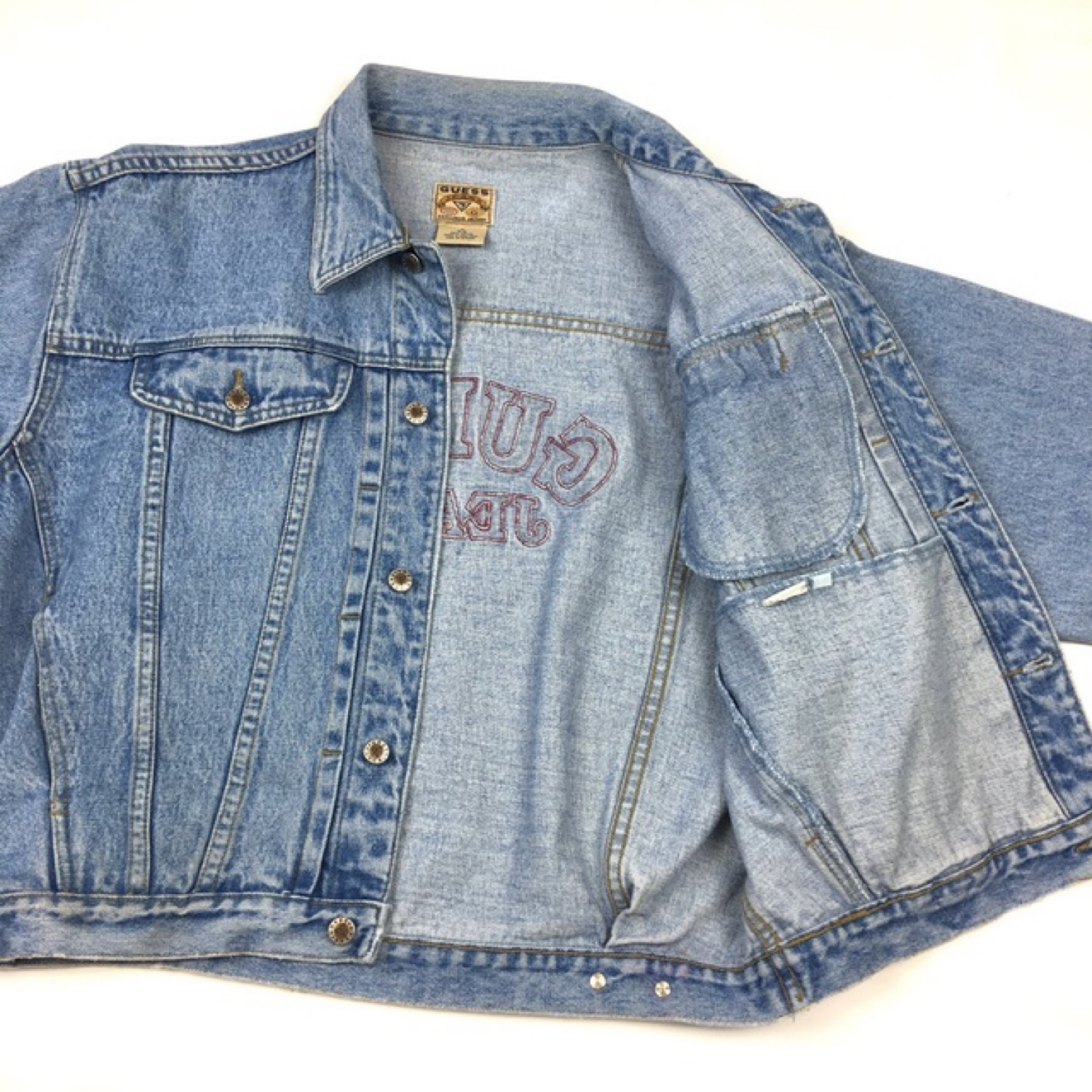 reputable site e8af5 bb477 Guess Jeans Denim Jacket