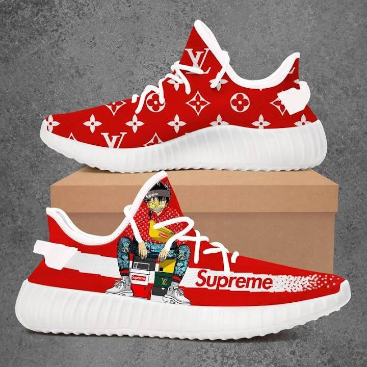 new concept eee83 cadf3 One Piece Bad Boy Supreme Louis Vuitton Adidas Yeezy Boost 350 V2 Top  Branding Trends 2019