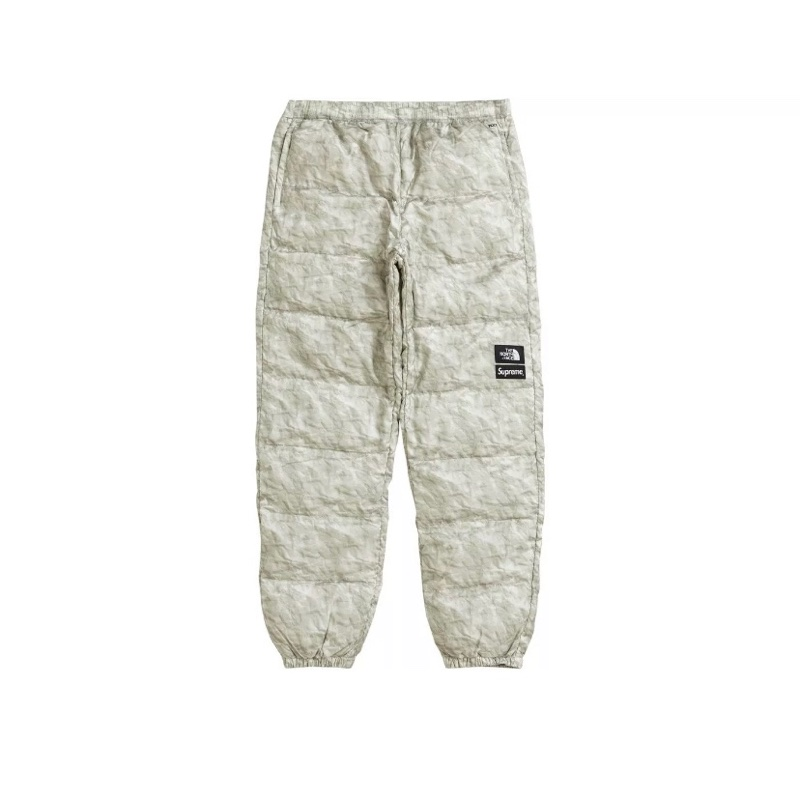 Supreme The North Face Paper Print Nuptse Pant
