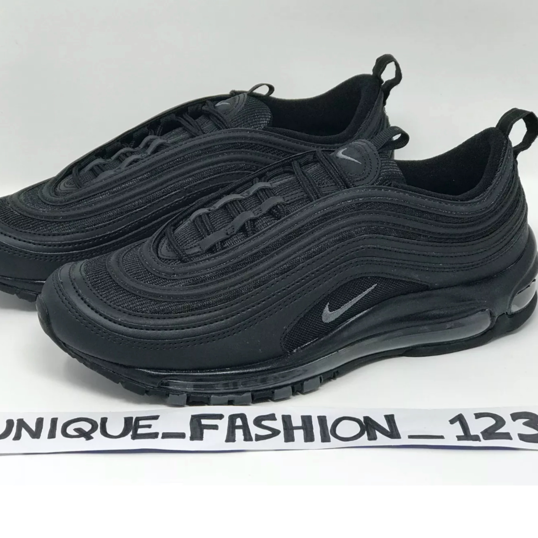 reputable site 5d27d 4d698 Wmns Nike Air Max 97 Triple Black