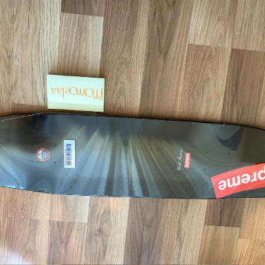 Supreme Motion Logo Cruiser Skateboard Black