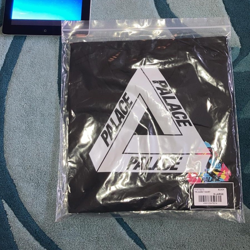 Palace Tri Camo T Shirt Black