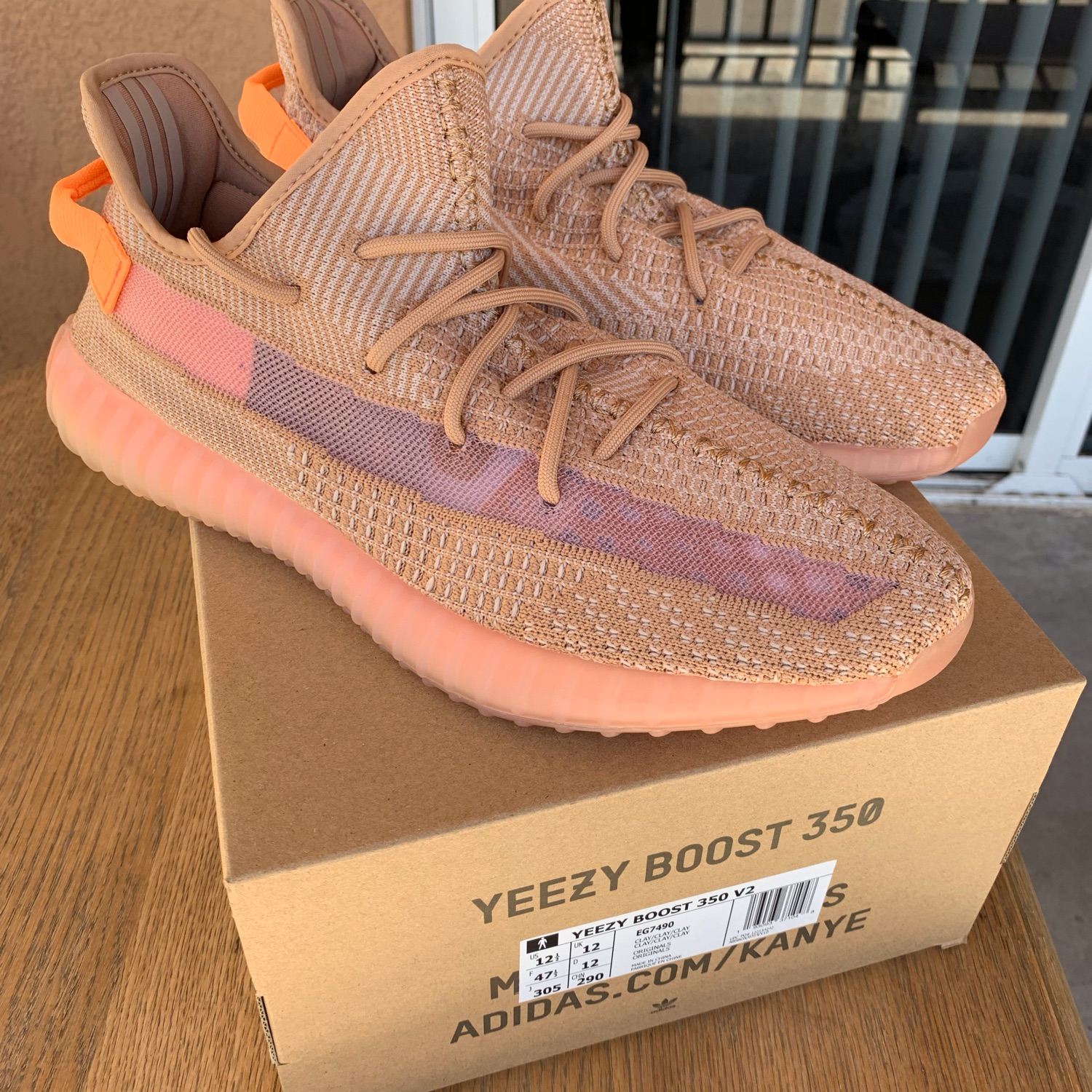 promo code 8917a 51630 Yeezy Boost 350 V3 Clay Size 12.5 Adidas Eg7490