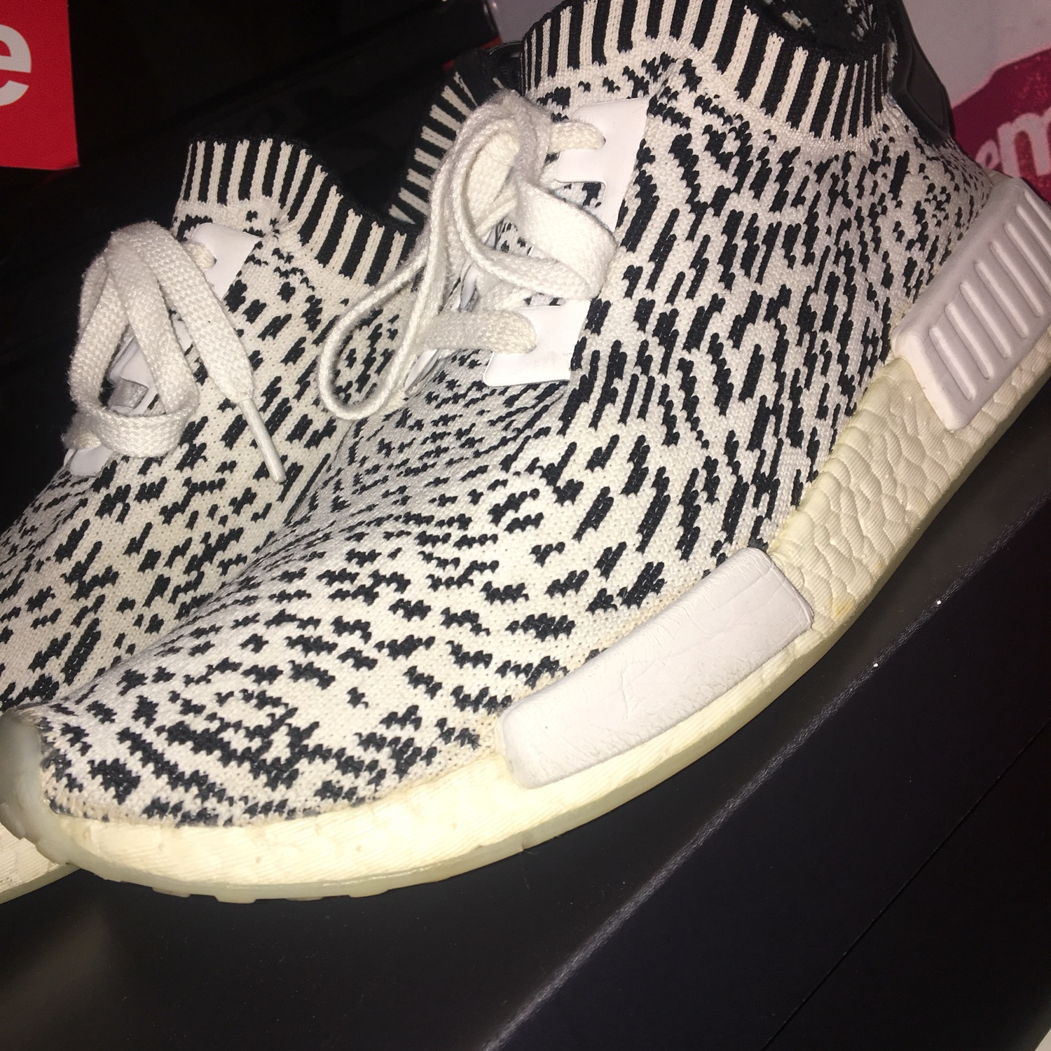 more photos 95d22 20b47 Adidas Nmd R1 Pk Sashiko White Uk Size 9