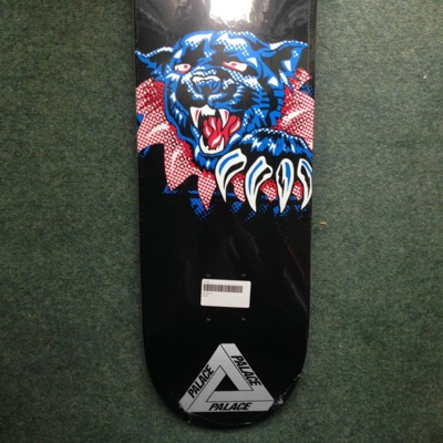 Palace Skateboards Ripped Tiger Deck