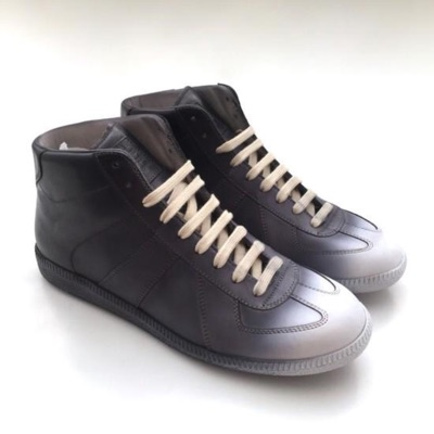 Maison Margiela Black & White Degrade Sneakers