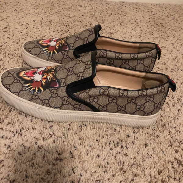 Gucci Angry Cat Slip-On