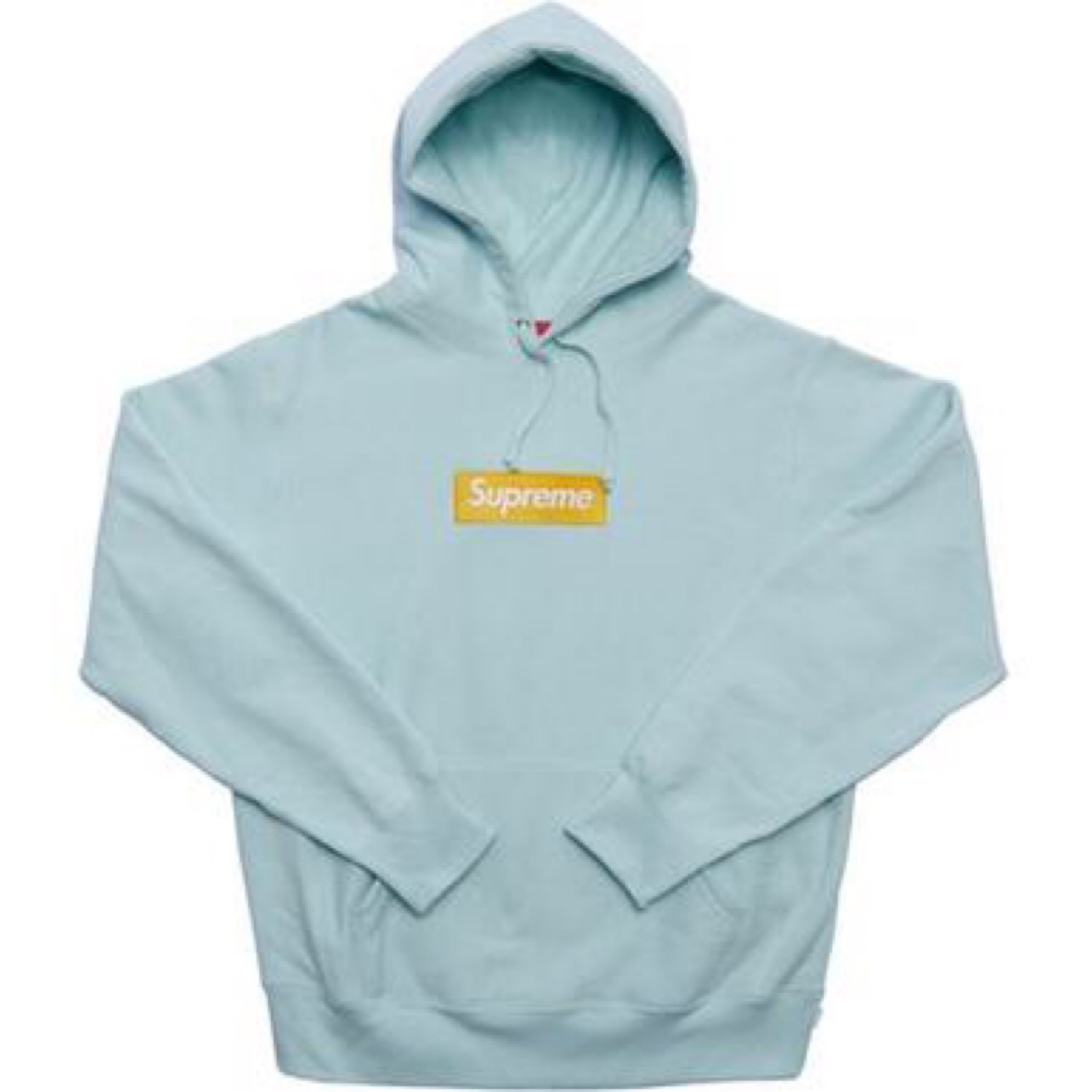 Supreme Box Logo Sweatshirt Baby Blue