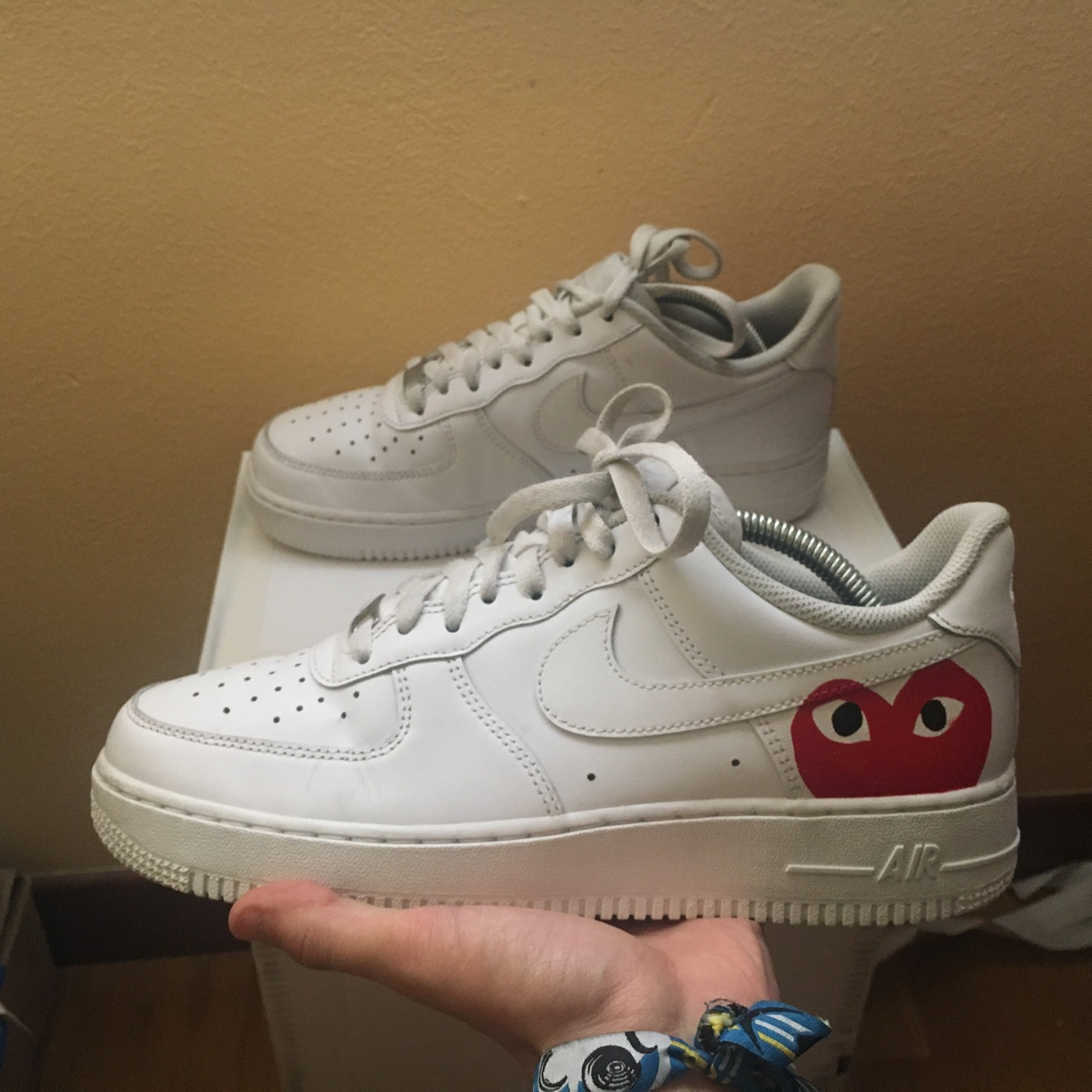 Nike Air Force 1 Commes Des Garcons (Custom)