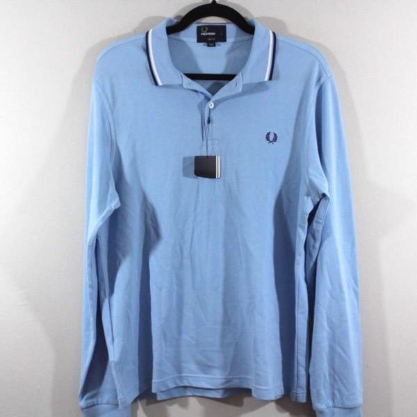 Fred Perry Long Sleeve Polo Shirt