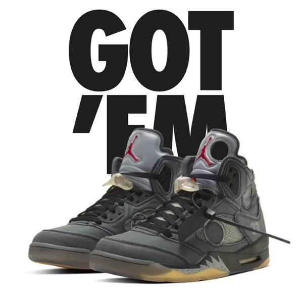 Nike Air Jordan 5 V Off White / Eu 47 Us 12,5