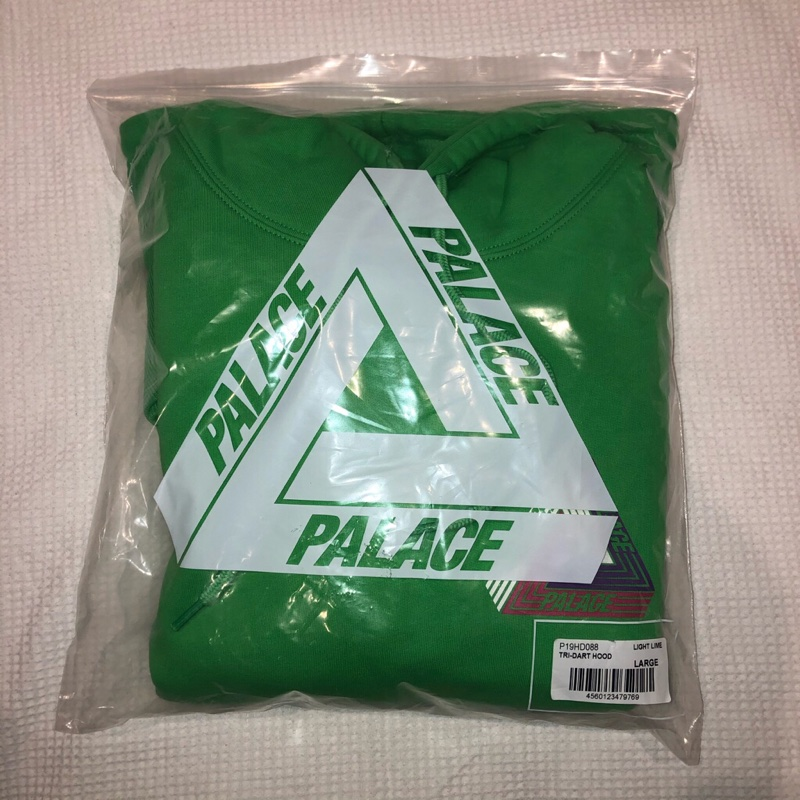 Palace Tri Dart Hood Light Green