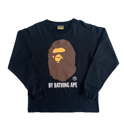 Black Bape Long Sleeve T Shirt