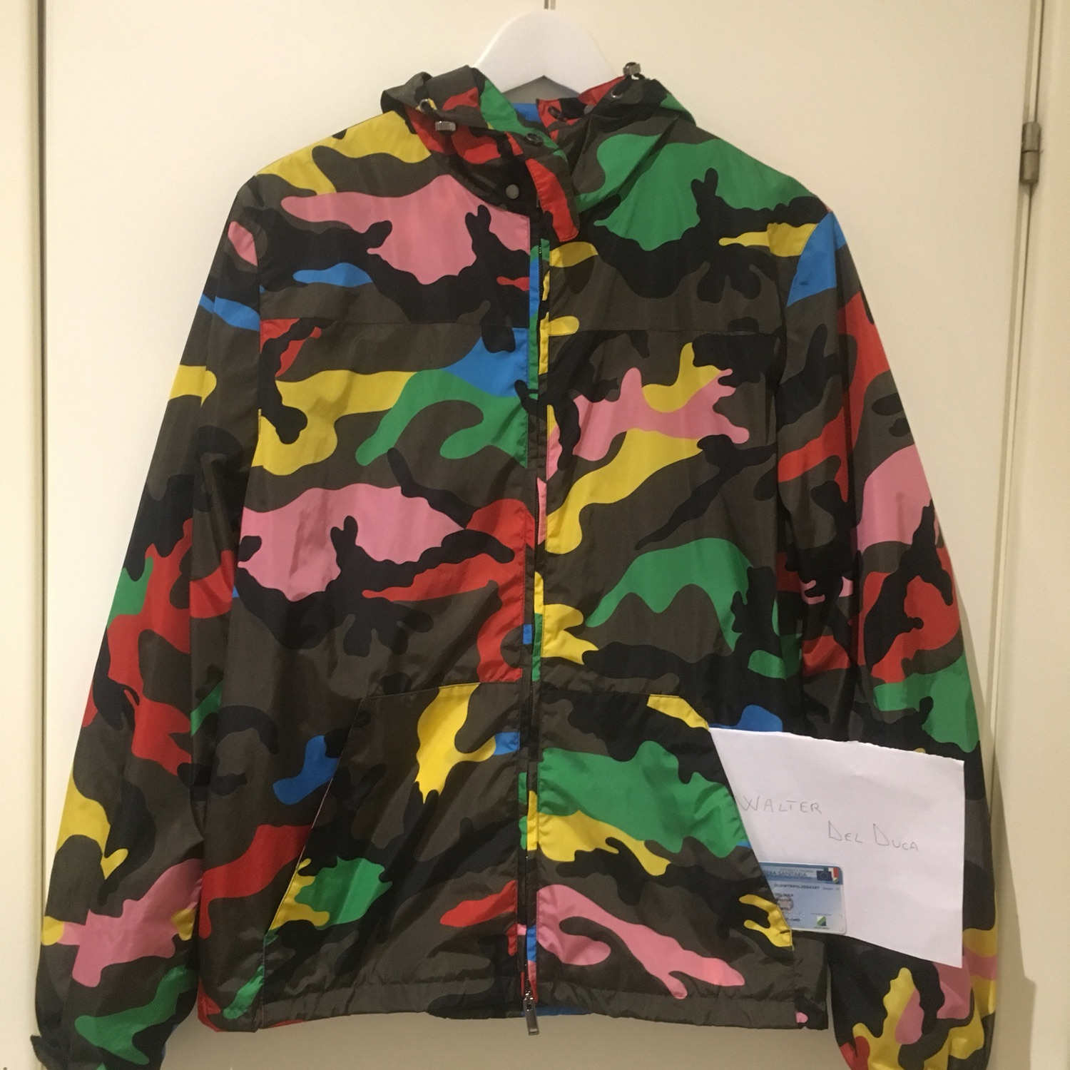 100% authenticated how to serch cheap for sale Wts Jacket Valentino : Camo 46-48 It&Fantasy 50 It
