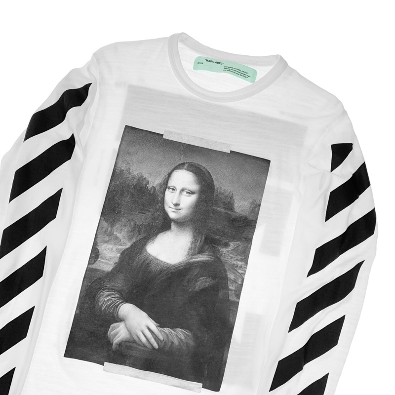 Off-White Mona Lisa Long Sleeve T Shirt
