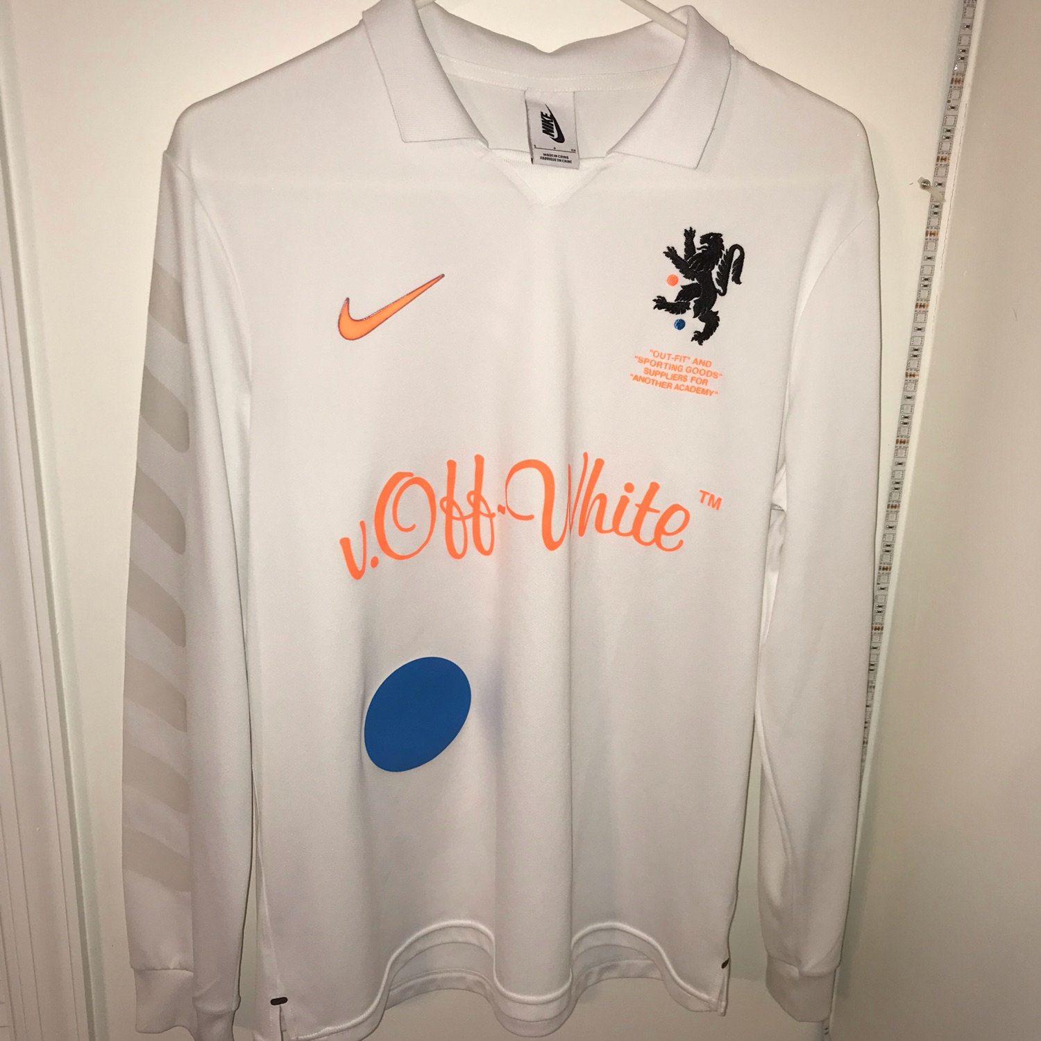 hot sale online 48377 cdd29 Nike X Off-White Jersey Home